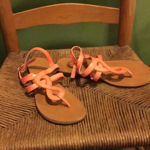 c553f1f40b GAP Shoes | Coral Peach Sandals 8 Spring Summer Beach | Poshmark